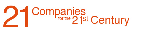 21 Companies for the 21 Century